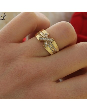 bague or homme tunisie